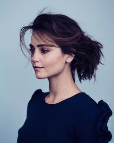Jenna Coleman for The Guardian 2016. Can I just have her makeup look!
