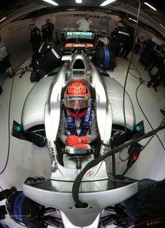 Michael Schumacher Mercedes F1