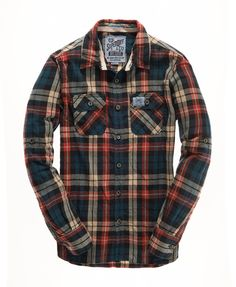 Superdry Lumberjack Twill Shirt - Men's Shirts                                                                                                                                                                                 More
