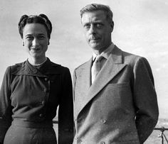 The Duke and Duchess of Windsor living in exile in France led a vacuous life. They were not interested in the arts, music or painting. They did not read books. They were not involved with philanthropy. Her idea of exercise was dancing or walking the dogs, his was playing golf.