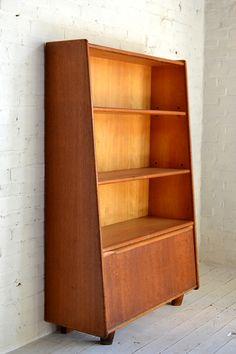 Cees Braakman; Wooden Bookcase for Pastoe, 1950s.