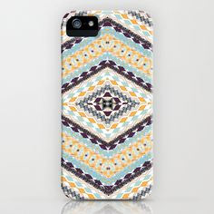 RETRO PATTERN iPhone Case by Nika  - $35.00