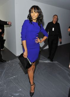 Kerry Washington Photo - Calvin Klein Women's Collection - Front Row - Fall 2011 Mercedes-Benz Fashion Week