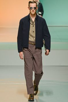 Z Zegna Spring 2013 Menswear Collection on Style.com: Complete Collection