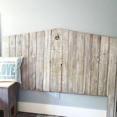 Queen Tricia Reclaimed Barn wood Headboard от thelakenest на Etsy