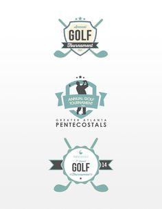 Golf Tournament logos