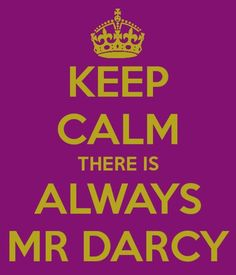 Aww, Mr. Darcy. I <3 him. Carl's personality test said that a fictional character that could describe him is Mr. Darcy. I secretly started loving him even more ;)