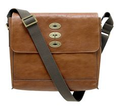 Mulberry Brynmore Natural Leather Messenger Bag