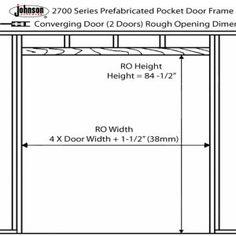 Framing A Closet Door Rough Opening