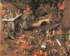 Image result for plague mask painting bosch