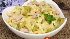 Legendárny Švajčiarsky syrový šalát: Stačí iba premiešať a máte fantastickú večeru – dávam ho aj na chlebíčky! B Food, Pavlova, Celery, Pasta Salad, Potato Salad, Cabbage, Salads, Potatoes, Vegetables