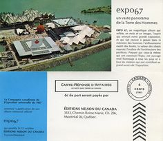 Order Form for the Expo 67 Memorial Album
