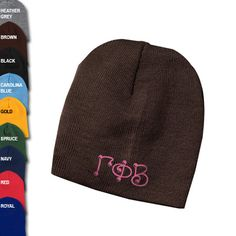 Gamma Phi Beta Sorority Beanie
