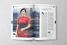 The Week - Editorial Magazine Supplement on Editorial Design Served
