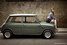 Mini Car design - We answer to the question what is Mod Subculture We team up with Adaptor clothing for our own take on mod style with David Watts and Lambretta clothing Mini Cooper Classic, Classic Mini, Mini Cooper S, Classic Cars, Classic Style, Mini Morris, Fiat 600, Mini Clubman, Mini Countryman