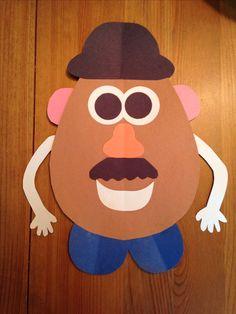Potato Head Craft – Toy Story 3 Movie Night – Disney Movie Night – Family … - Crafts for Kids Toy Story Theme, Toy Story Birthday, Toy Story Party, Toy Story 3, Disney Crafts For Kids, Toddler Crafts, Art For Kids, Toy Story Crafts, Movie Crafts
