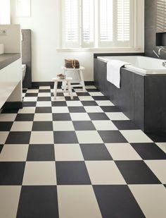 Bathroom - Flexxfloors Portugese pvc vloertegel