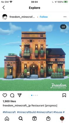 Minecraft Build House, Minecraft Cottage, Minecraft Mansion, Cute Minecraft Houses, Minecraft Castle, Minecraft Room, Minecraft Plans, Minecraft House Designs, Amazing Minecraft