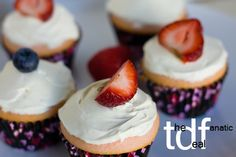 Two ingredient cupcake with #clearamericanwater #cbias @LaLa Sams