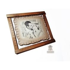 Great leather anniversary gift. Unique 3rd wedding anniversary gift for her or him. Best for couple present. High quality handmade pyrography on leather.