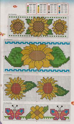 Cross Stitch Kitchen, Simple Cross Stitch, Cross Stitch Flowers, C2c Crochet Blanket, Crochet Chart, Counted Cross Stitch Patterns, Cross Stitch Charts, Beading Patterns, Crochet Patterns