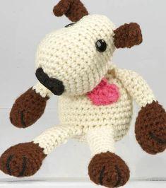 Amigurumi Puppy | FREE amigurumi pattern from @joannstores | Amigurumi Dog | Crochet Dog Pattern