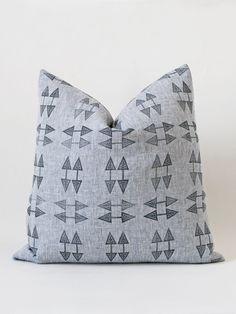 Yarn Dye Arrow Cushion – susan connor new york