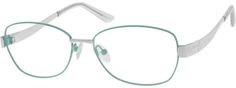 6547 Metal Alloy / Stainless Steel Full-Rim Frame With Spring Hinges-751m1nXT