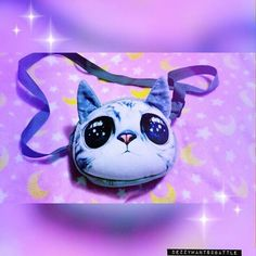 A purse with my face on it 🐱  #purse #accessories #aesthetic #kitty #cat #neko #eyes #wish #kawaii #pastel #cute #package #meow #onlineshopping #wishapp #bags #ootd #4thofjuly #kawaiitheme #nerd #geek #aesthetics #tumblraesthetic #tumblrpost