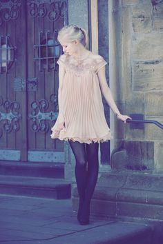 Joana von http://www.odernichtoderdoch.blogspot.de/ - Mehr dazu im Magazin! http://www.mystylehit.de/magazine/ootd-joana-pretty-romantic/