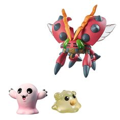 Digimon Adventure DigiColle! Data2 Sammelfiguren Tentomon & Motimon - mrbento.de
