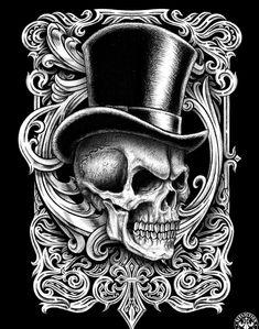 90 Original Designs from the Affliction Artist Den Skull Tattoo Design, Tattoo Design Drawings, Skull Design, Skull Tattoos, Tattoo Designs, Poker Tattoo, Skull Coloring Pages, Totenkopf Tattoos, Skull Pictures