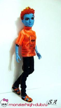 Простой костюм для Холта Хайда | Monster High Club