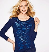 Damask Sparkle Top Upgrade your weekend style with some sparkly shimmer. Sequin-pattern foil print top. Cotton/polyester. Machine wash and dry. Imported.. $24.99 Available in Avon C-22 at this price until 10/15/13. Shop my Avon Store:  www.youravon.com/jdolder