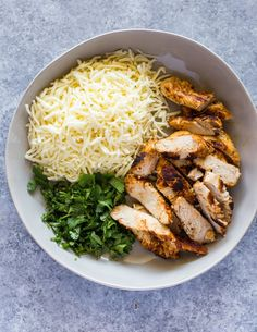 2 cups cooked grilled chicken breasts, chopped (seasoned with your favorite spices, see note*) ¼ cup Hidden Valley® Simply Ranch dressing ½ cup mozzarella cheese ¼ cup cilantro, minced (optional) 4 8'' tortillas