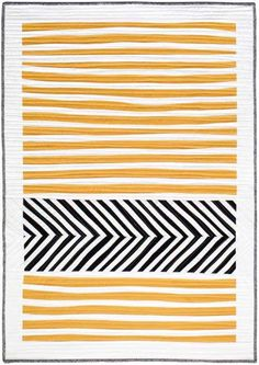 Stripes and Herringbone Quilt - Free Quilt Pattern