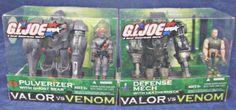 Hasbro+2004+Gi+Joe+Defense+Mech/Leatherneck+++Cobra+Pulverizer-armor+vehicle+set