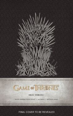 Game of Thrones : Iron Throne Hardcover Ruled Journal by Insight Editions (9781608877201) | hive.co.uk