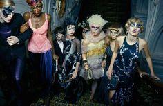 Clown Fashion Editorials - Erwin Olaf's 'The Praise of Folly' for Elle Magazine (GALLERY)