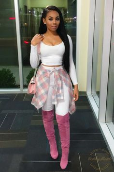 "ecstasymodels: "" Girly Girl Style Fashion Look by Aaleeyah Petty """