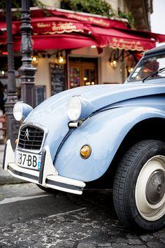 #Paris #Parisphotographer #magdalenamartin #2cv by Magdalena Martin Photography