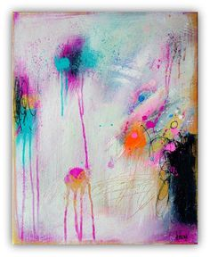 Abstract Art | Acrylic Painting | Modern Painting | Original Contemporary Art on canvas 16x20 inch by Heroux