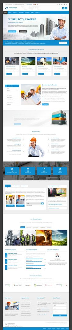 Conviction is wonderful premium 3 in 1 #WordPress #template for #corporate, agency, nonprofit, freelancer or general business website download now➩ https://themeforest.net/item/conviction-responsive-multipurpose-wordpress-theme/16753117?ref=Datasata