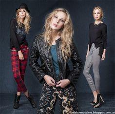 Moda y Tendencias en Buenos Aires : WUPPER JEANS OTOÑO INVIERNO 2014: LOOKS DE MODA CA...