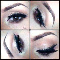 Double eyeliner super pretty
