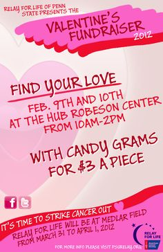 Relay For Life: Valentine's Day Fundraiser
