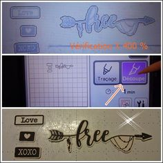 Scan N Cut, Brother Scan And Cut, Love Is Free, Couture, Projects, Scrapbooking, Silhouette, Diy, Keyboard Keys