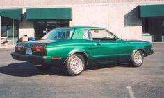 Dark Emerald 78 Mustang II