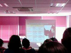 Presencia de la mujer en la red #tallergénero #conlaA