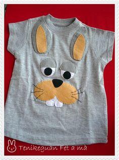 camiseta de conejo